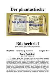 Bücherbrief 617 März 2015