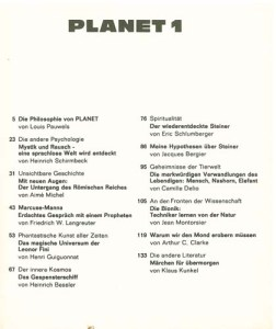 planet 1 Inhalt