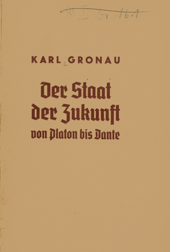 Katl Gronau - Der Staat der Zukunft