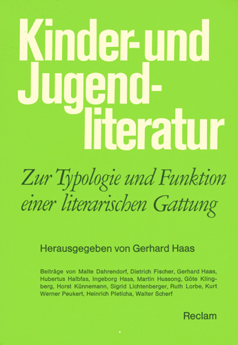 Gerhard Haas - Kinder- und Jugendliteratur