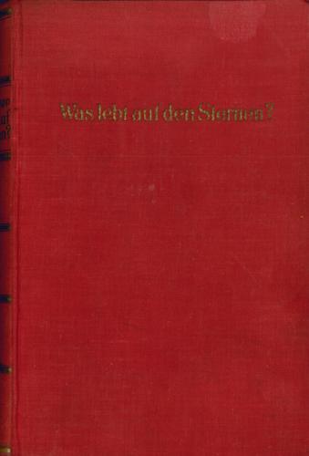 Desiderius Papp - Was lebt auf den Sternen?