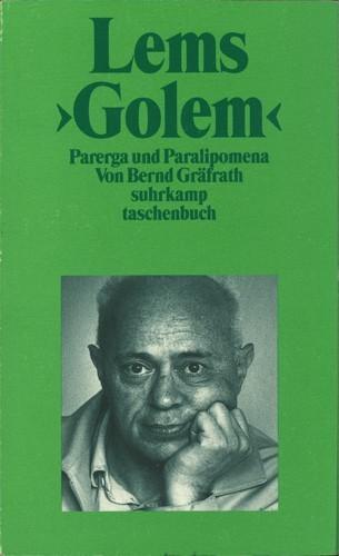 "Bernd Gräfrath - Lems ""Golem"""