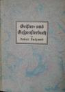 Geister- und Ggespensterbuch 1921