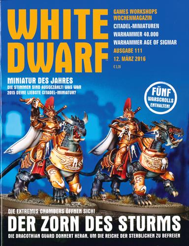 Paul Lyons (Hrsg.) - White Dwarf, Nr. 111