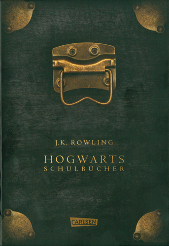 J. K. Rowling - Hogwarts Schulbücher 3 Bände im Schuber