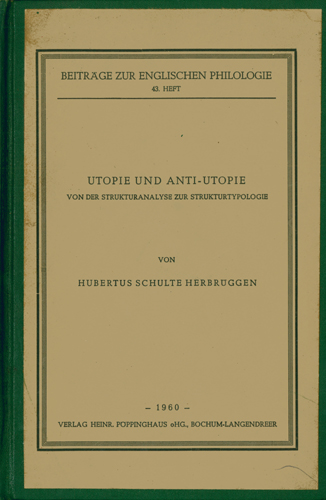 Hubertus Herbrüggen - Utopie und Anti-Utopie