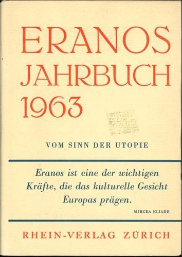 Adolf Portmann - Eranos Jahrbuch 1963, Band XXXII