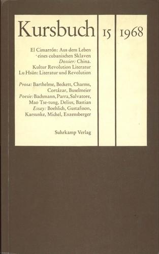 Hans Magnus Enzesberger - Kursbuch 15